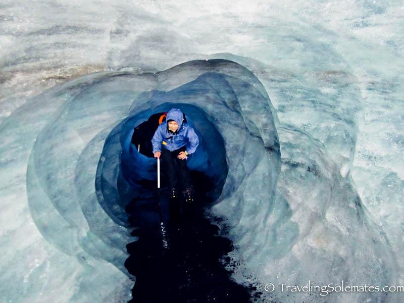 Ice Tunnel, Solheimajokull Glacier Walk, Iceland