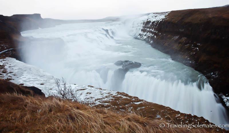 Gullfoss Waterfall, Golden Circle Tour, Iceland