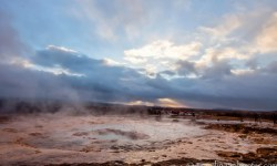 Strokkur Geyser, Golden Circle Tour, Iceland