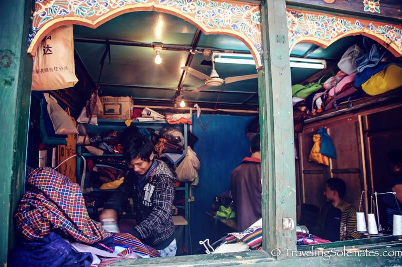 Laundromat, Trongsa, Bhutan