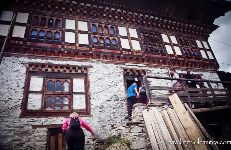 21-A House in Ura Village, Ura Valley, Bumthang, Bhutan