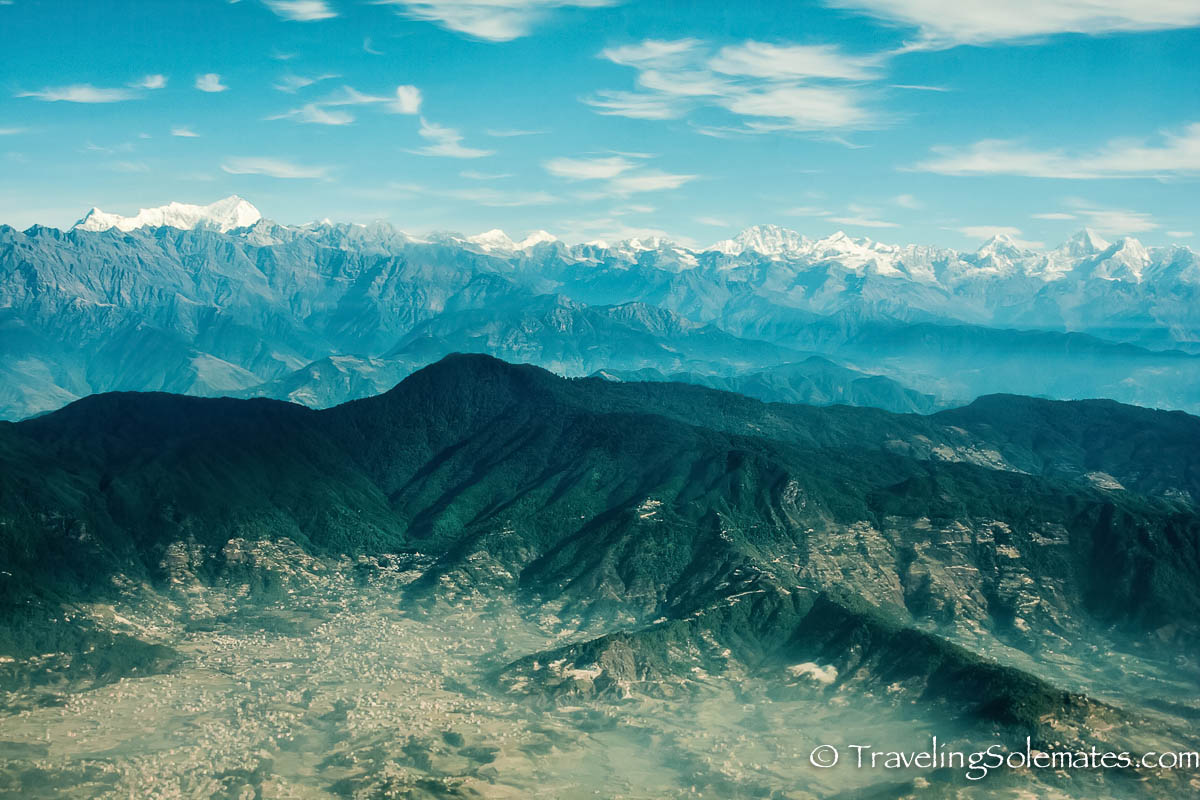 Scenic Mountain Flight over Mt. Everest and Himalayas, Nepal