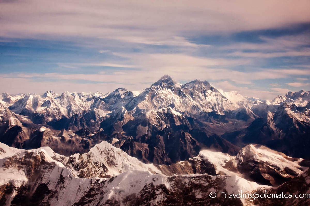Scenic Mountain Flight over Mt. Everest, Nepal