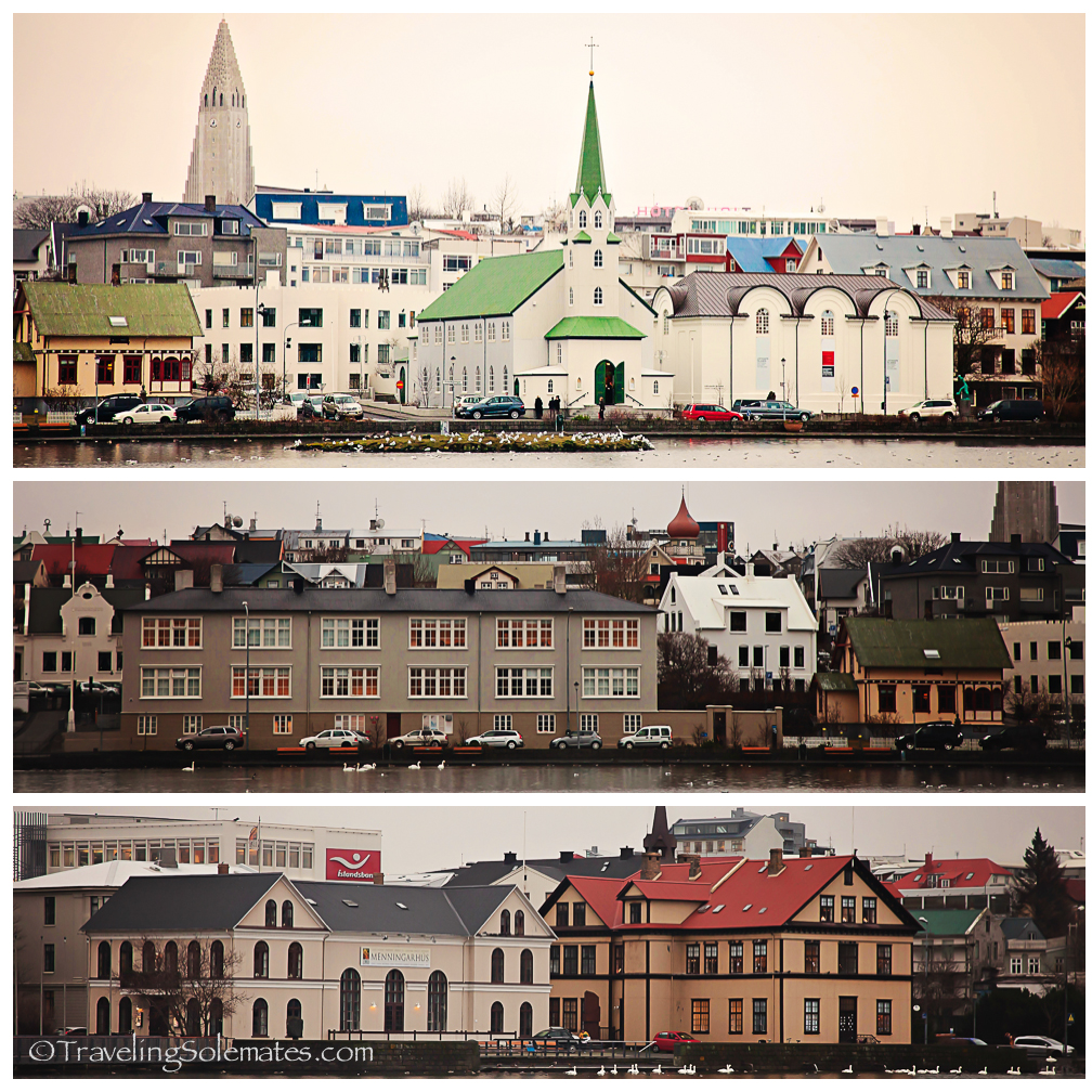 Colorful buildings in Reykjavik, Iceland