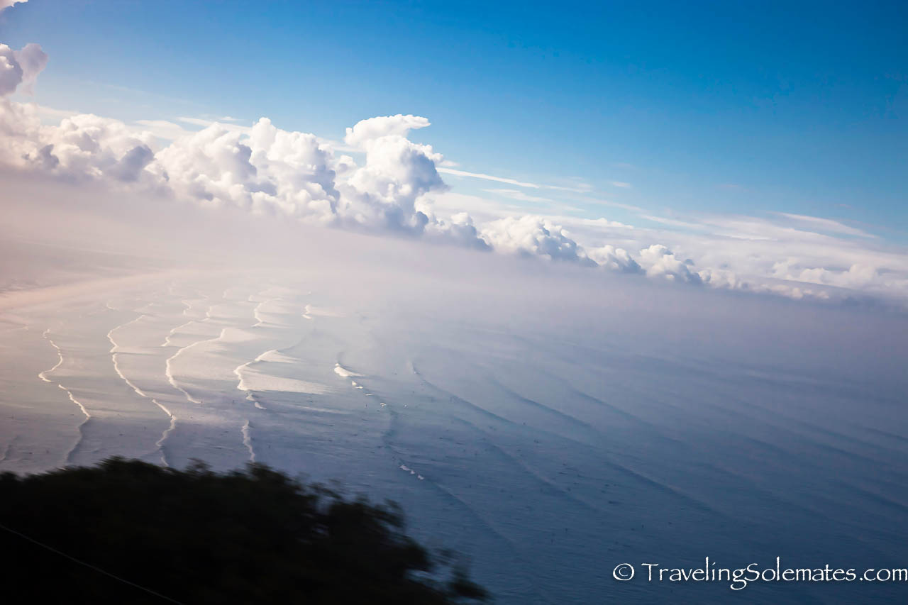 05-View of the of Sea and Clouds from Cape Peninsula, South Africa