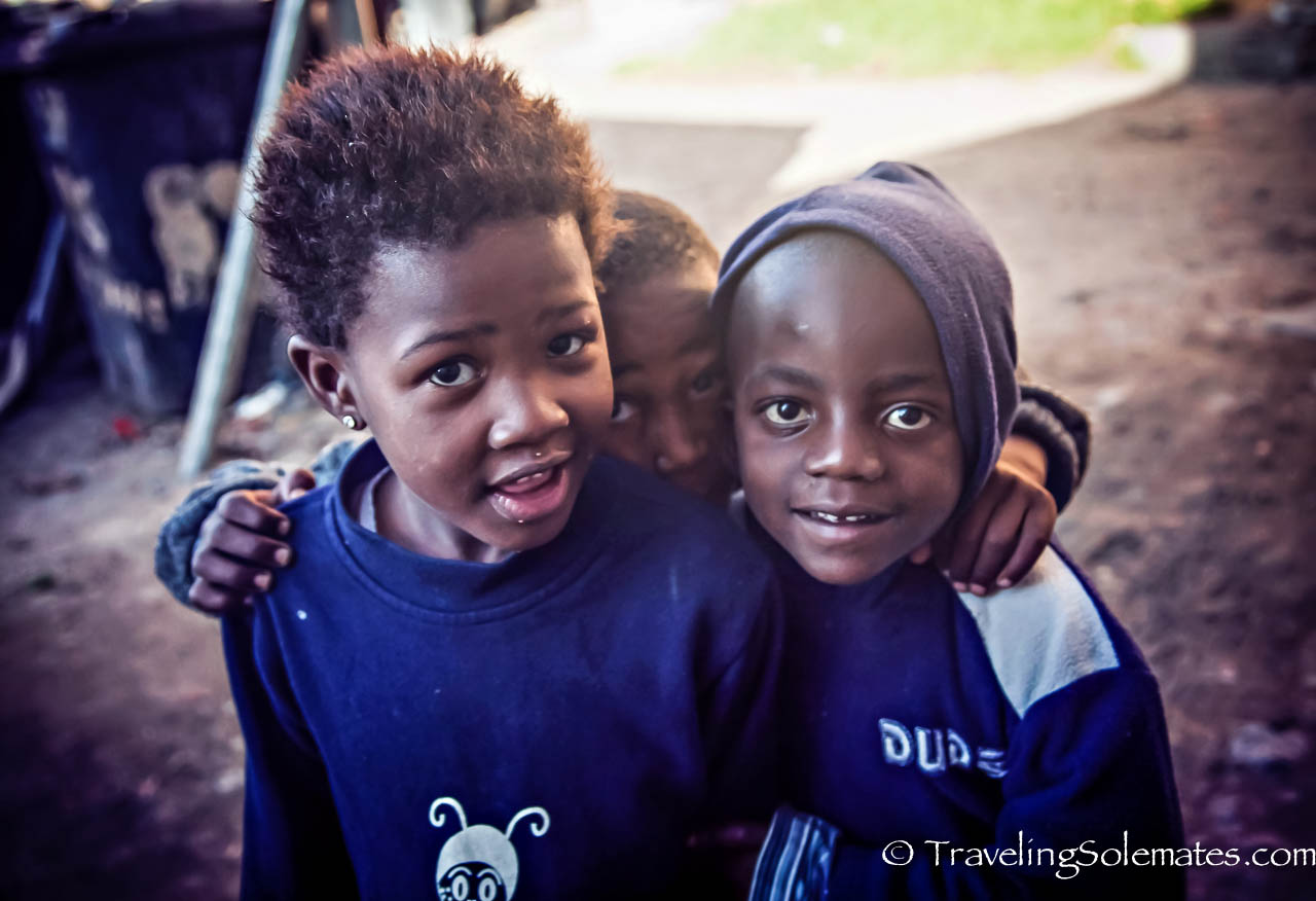 Children of Langa Township, Cape Town, South Africa