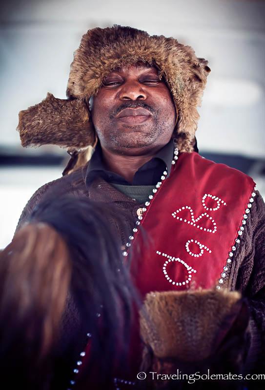 Medicine Man of Langa Township, Cape Town, South Africa