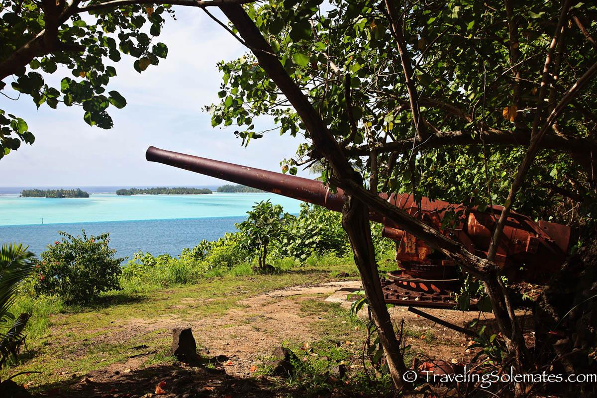 US World War II canon, Bora Bora South Pacific