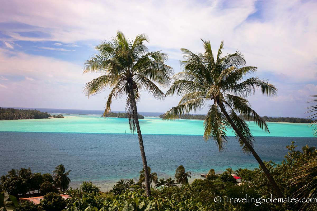 View from US Canon location in Bora Bora, French Polynesia