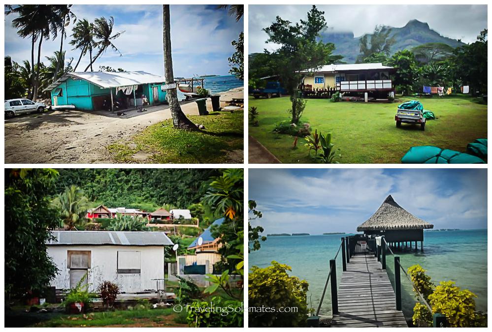 Houses in Bora Bora Villages