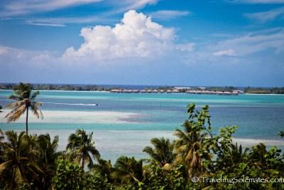 Viewpoint n Mainland Bora Bora