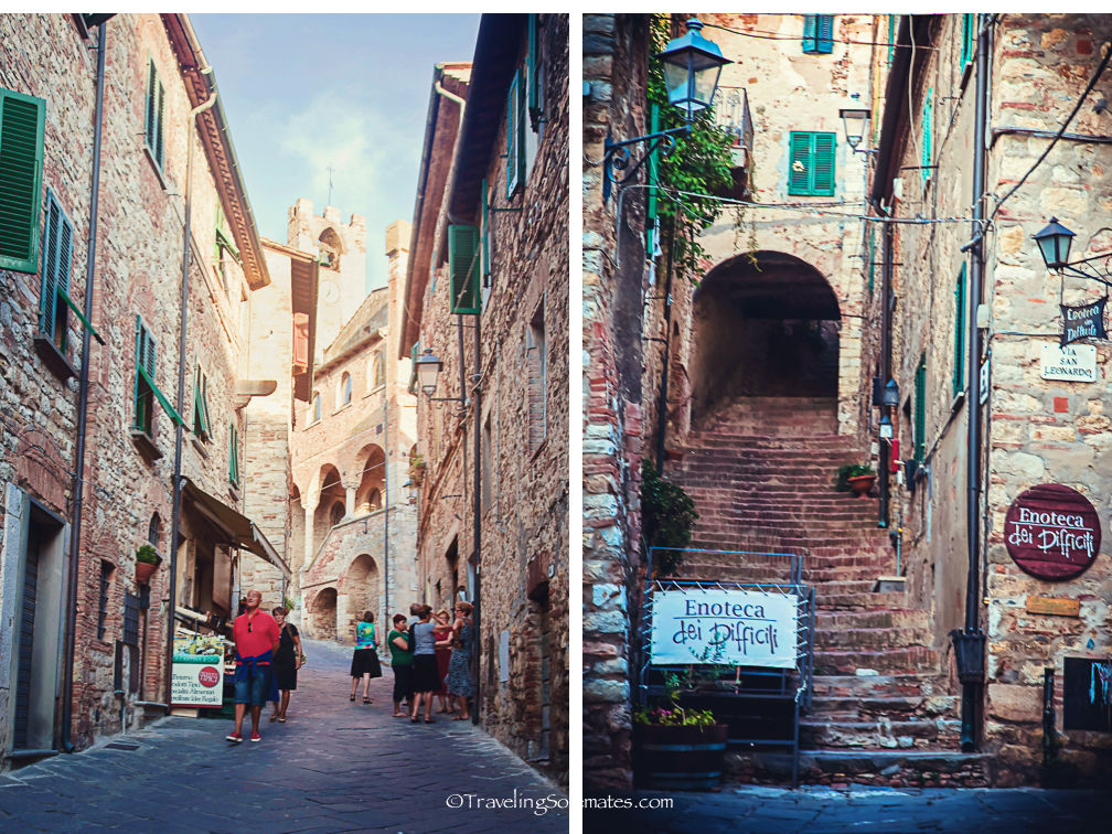 Streets and Stairways of Suvereto, Etruscan Coast, Tuscany, Italy