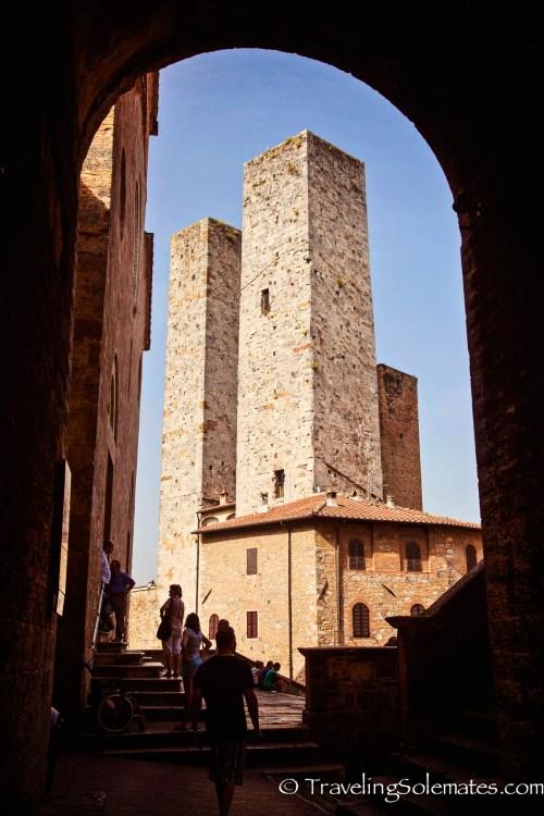 Towers in San Gimignano, Tuscany, Italy