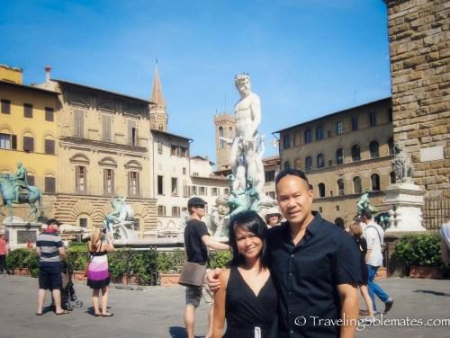 Plazza dela Signora, Florence, Italy
