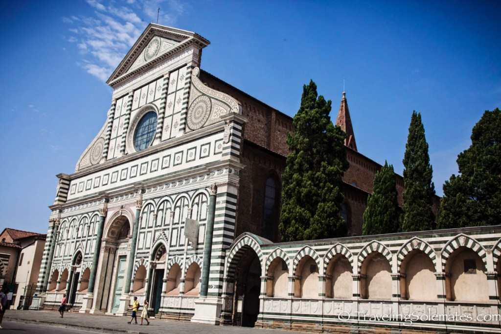 Church of Santa Maria de Novella, Florence, Italy