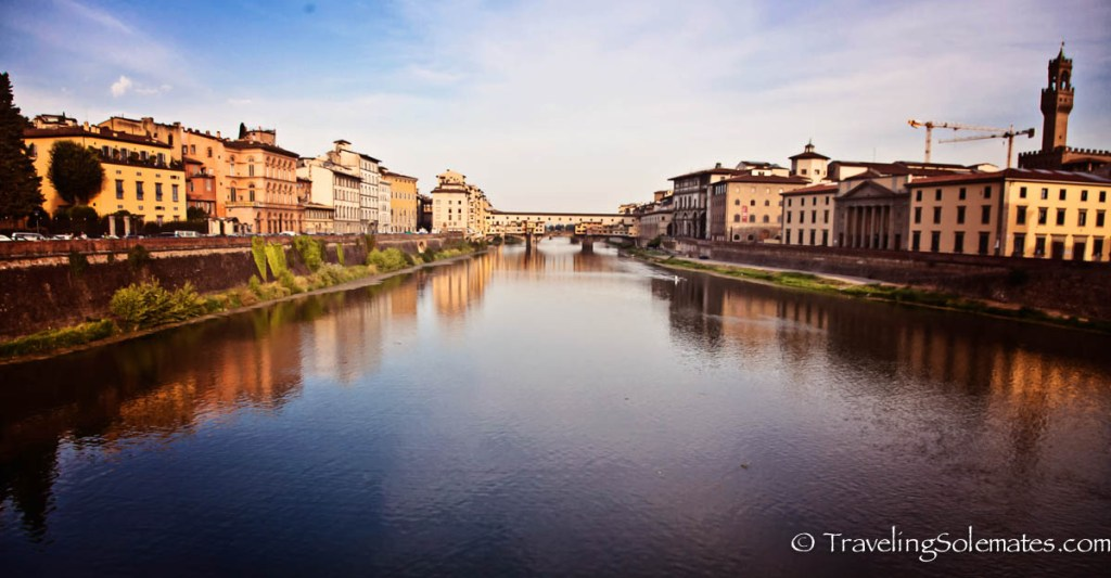 Ponte Vecchio and Arno River, Florence, Italy