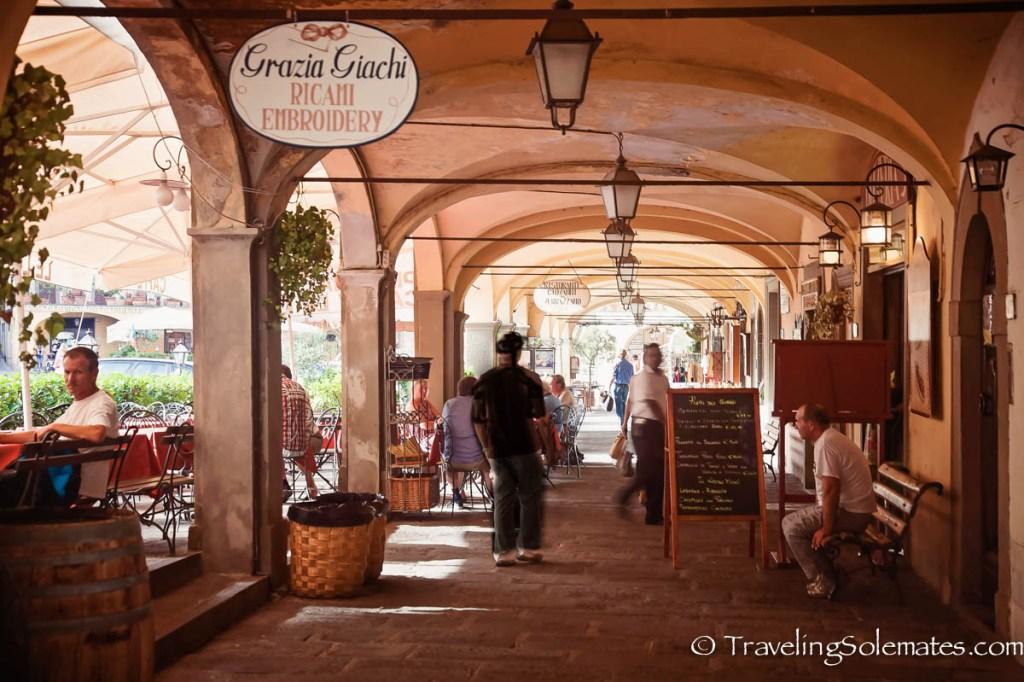 Building in Greve in Chianti, Tuscany, Italy