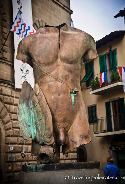 Art Museum in Greve in Chianti, tuscany, Italy