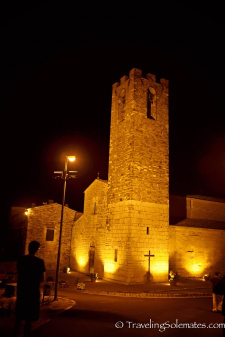 Church in Donato in Poggio, Tuscany, Italy