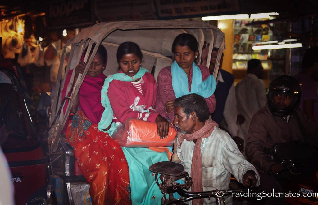 Women on Rickshaw, Varanasi, I