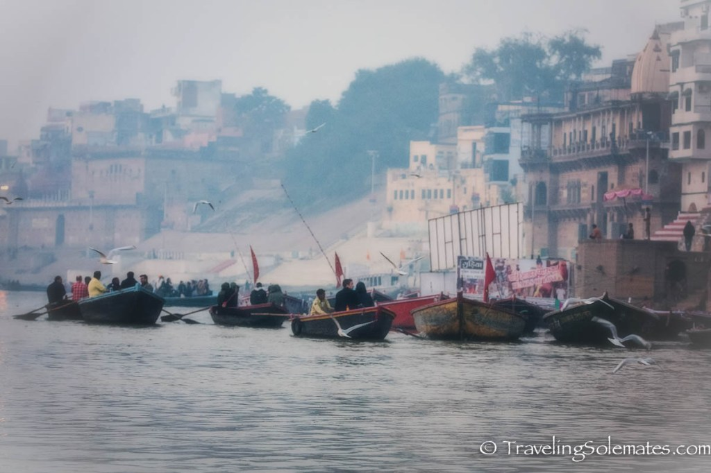 -Dawn in Ganges River, Varanasi India