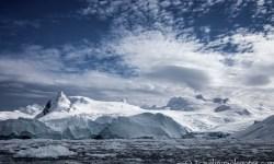 Antarctica Ciera Cove Glaciered Mountain