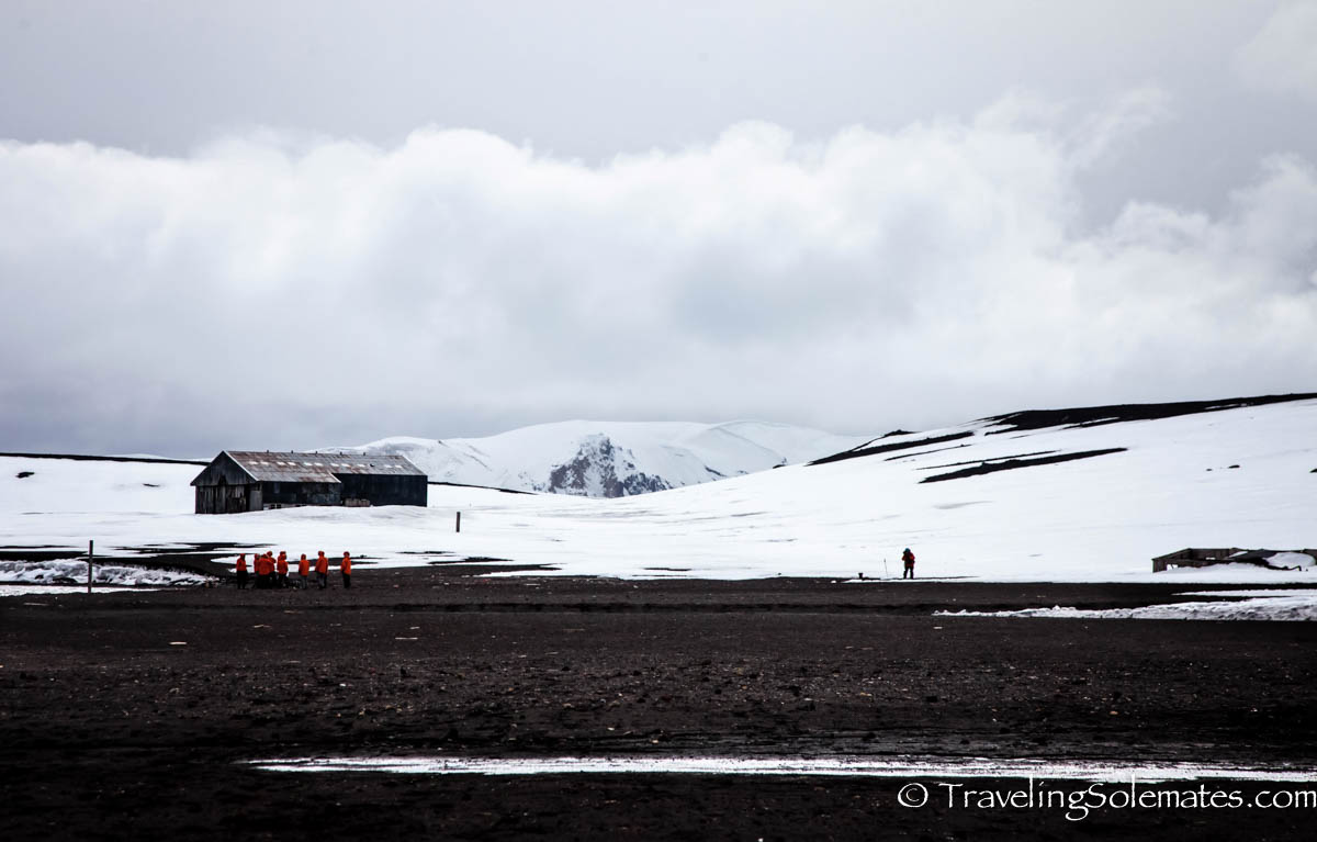 Airplane Hangar, Deception Island, National Geographic Explorer, Antarctica Expedition