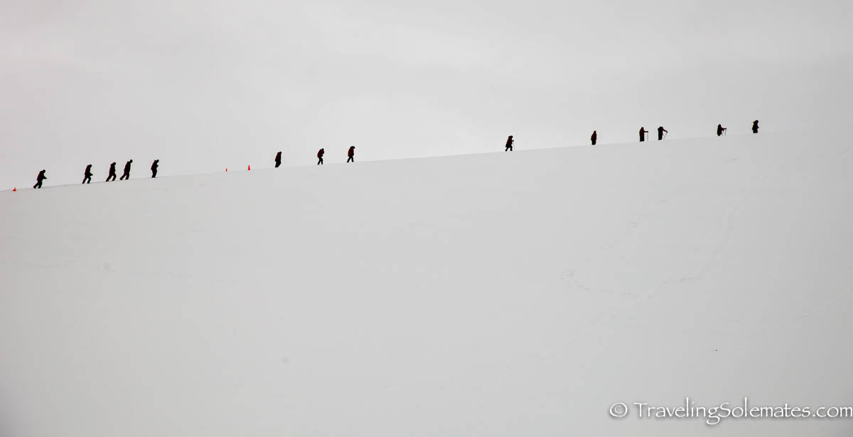 Hiking in Danco Island, Antarctica, National Geographic Explorer, Linblad Expeditions
