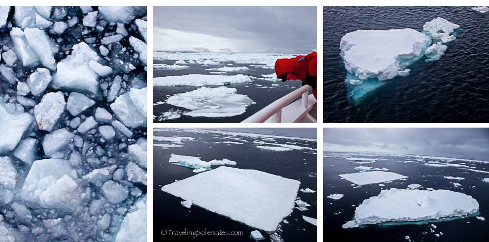 Ice floes, Active Sound, Antarctica, National Geographic Explorer, Lindblad Expeditions
