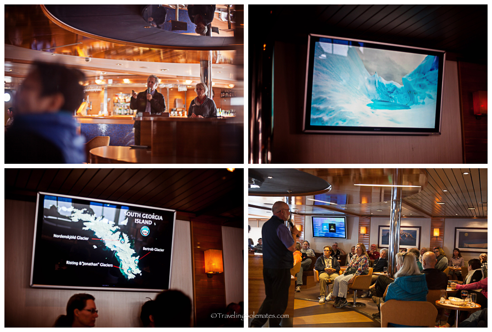 Lectures and Presentation, Antarctica Expedition aboard National Geographic Explorer, Linblad Expeditions