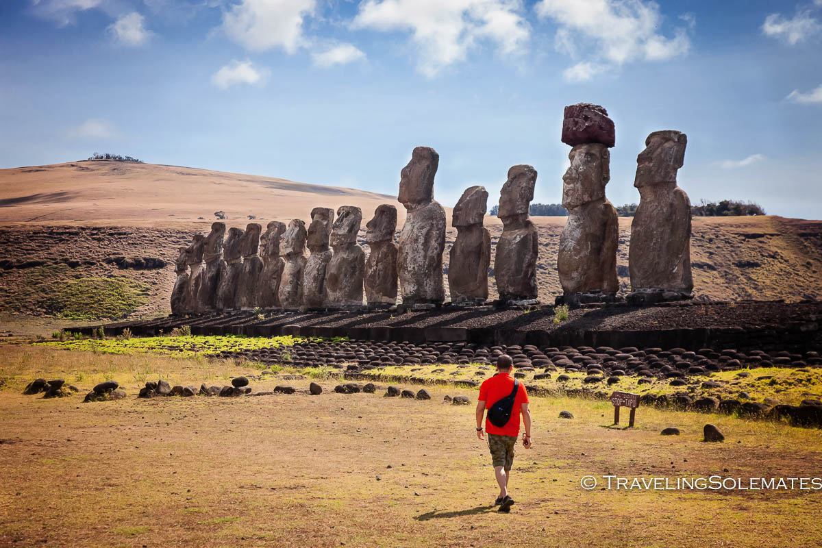 the last moai on easter island