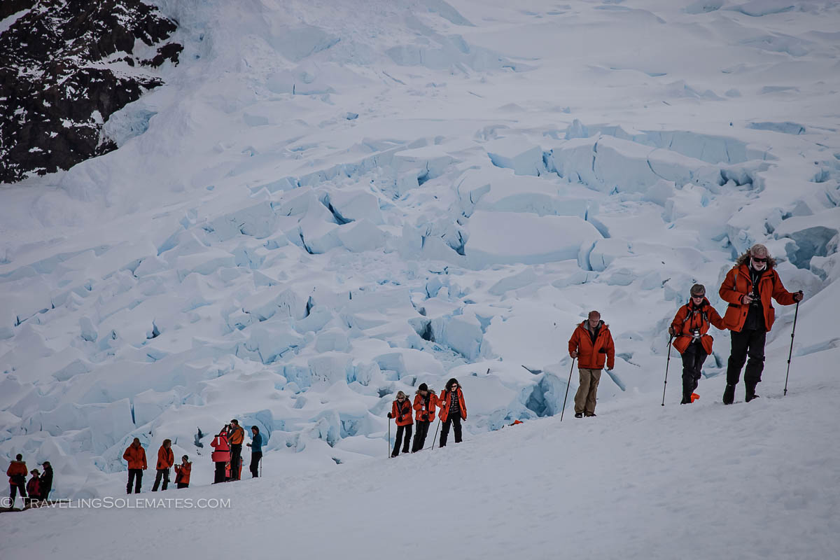 Neko Harbor Mountains, Antarctica, National Geographic Explorer Lindblad Expeditions