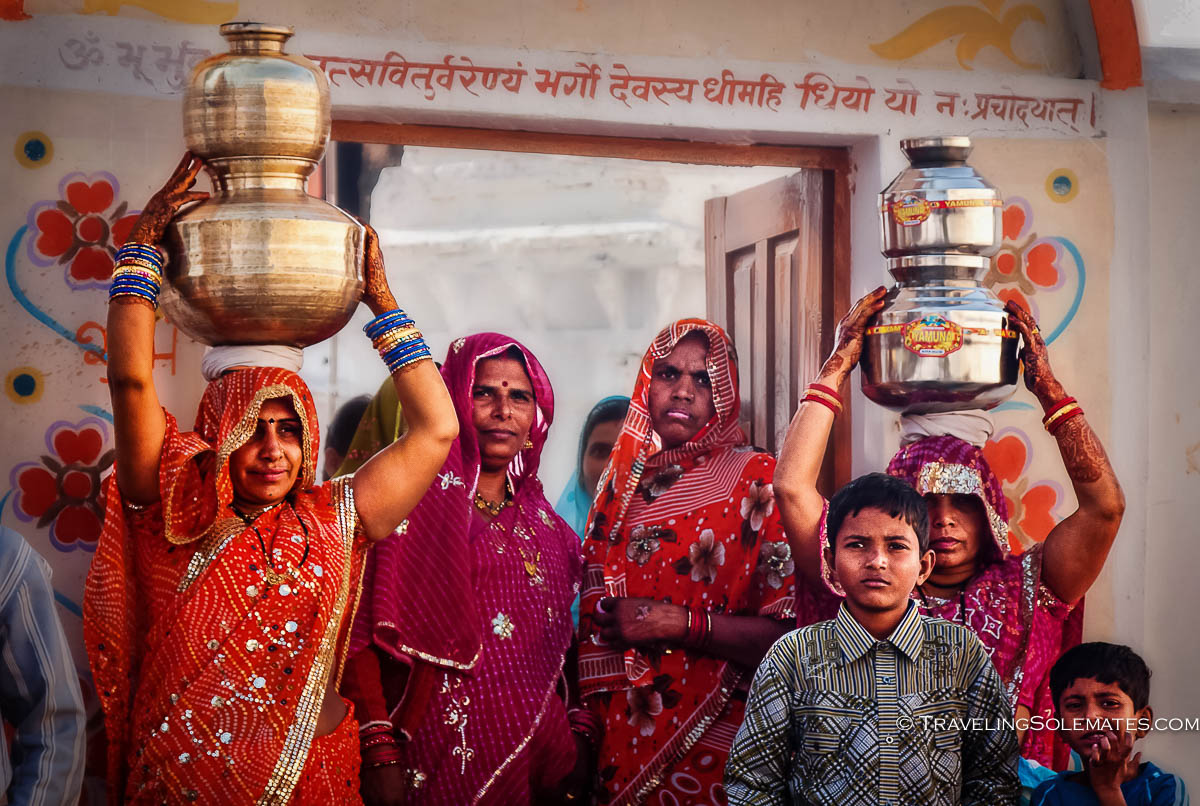 Wedding in Temple, Orchha, India