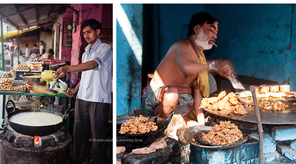 Street Food Vendor, Orchha, India