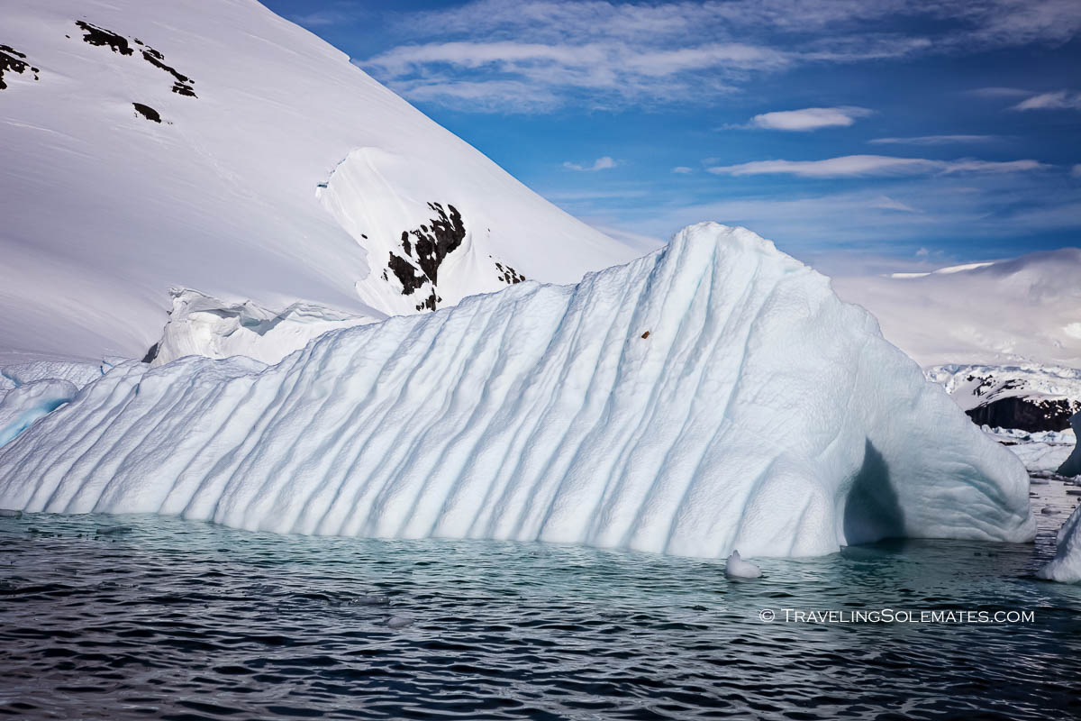 Iceberg in Cuverville, Antarctica, National Geographic Explorer Lindblad Expeditions