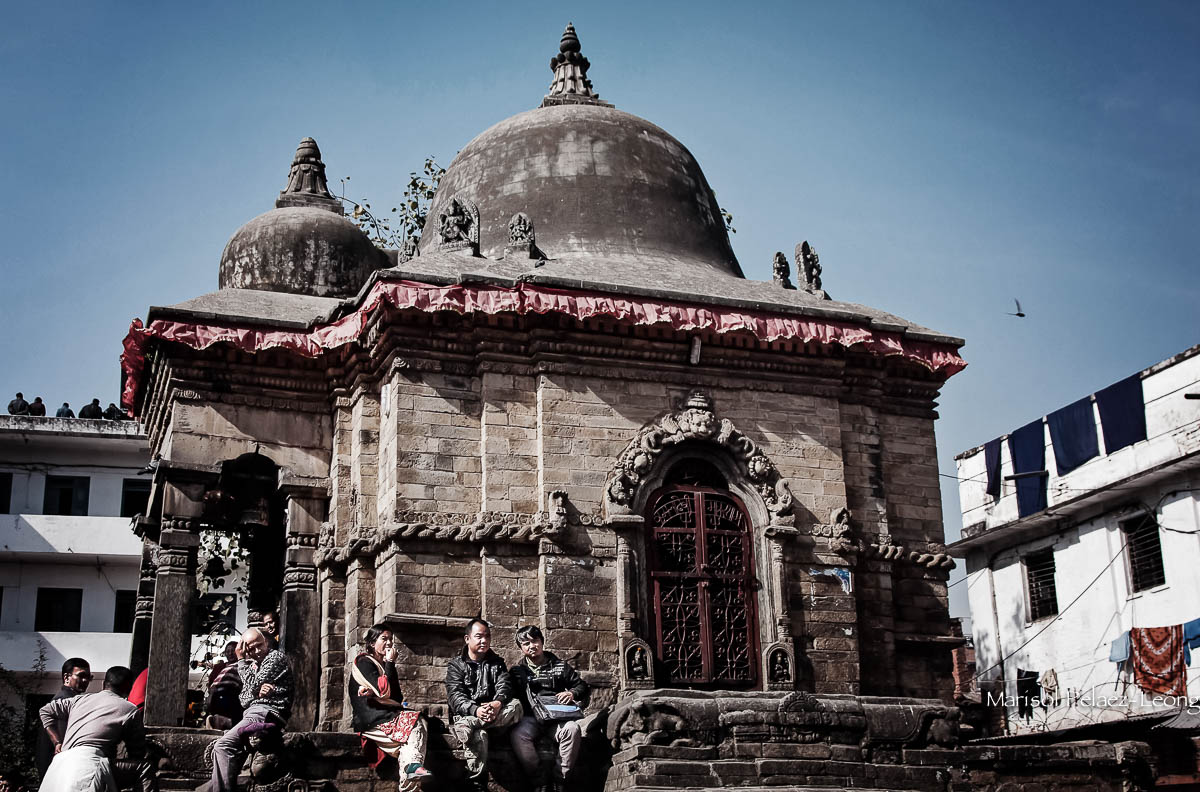 Temple in Durbar Square, Kathmandy, Nepal