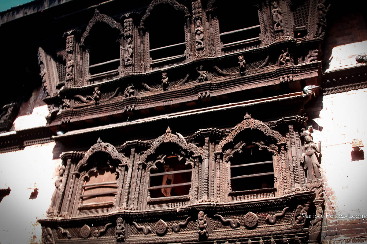 House of Kumari, Living Goddess, Durbar Square, Kathmandu, Nepal