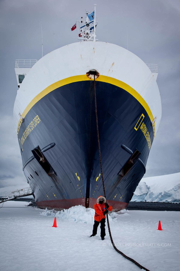 Sea Ice Walk,Port Lockroy, Antarctica, Natioanl Geographic Explorer, Lindblad Expeditions