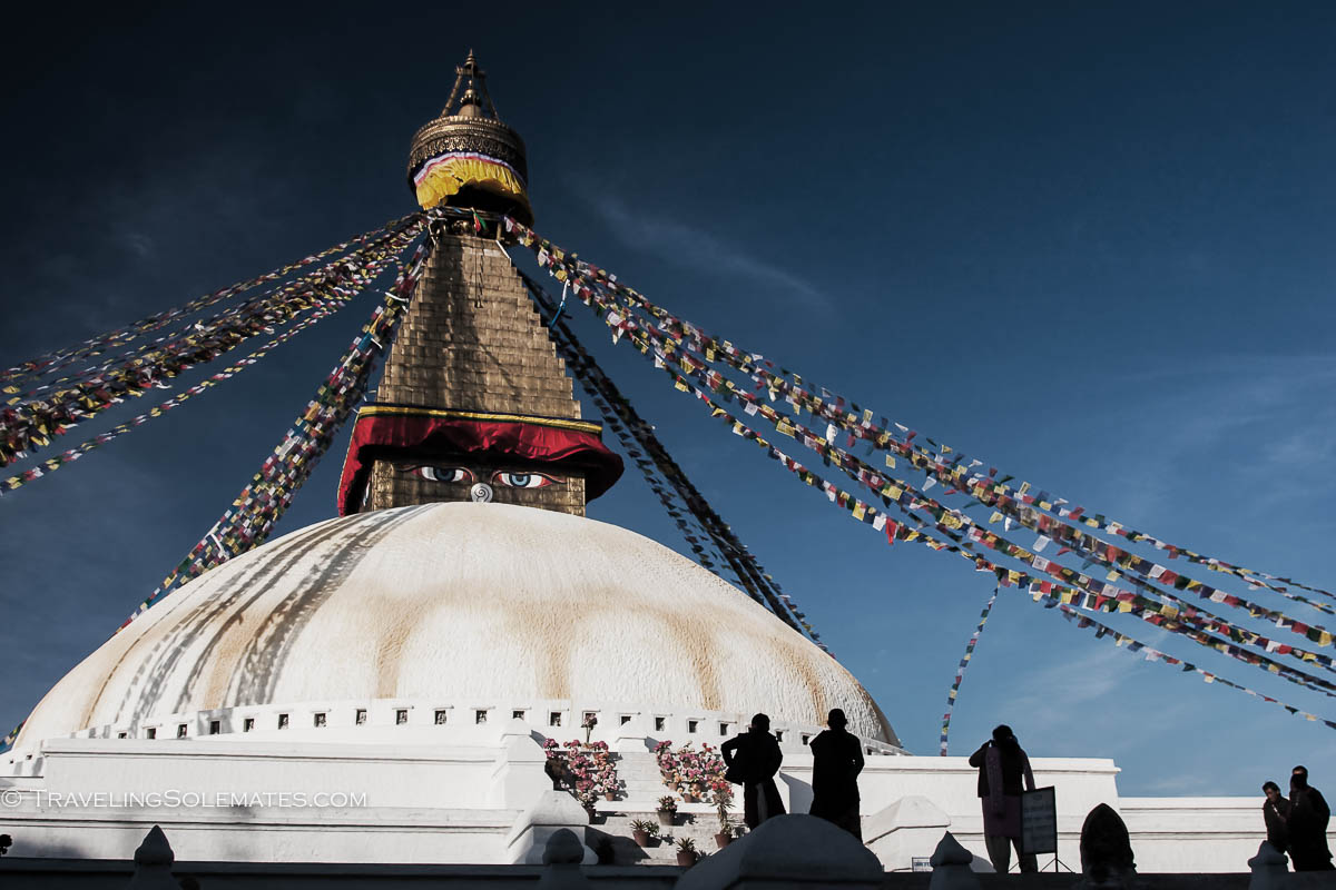 Stupa of Bodnath, Kathmandu, Nepal