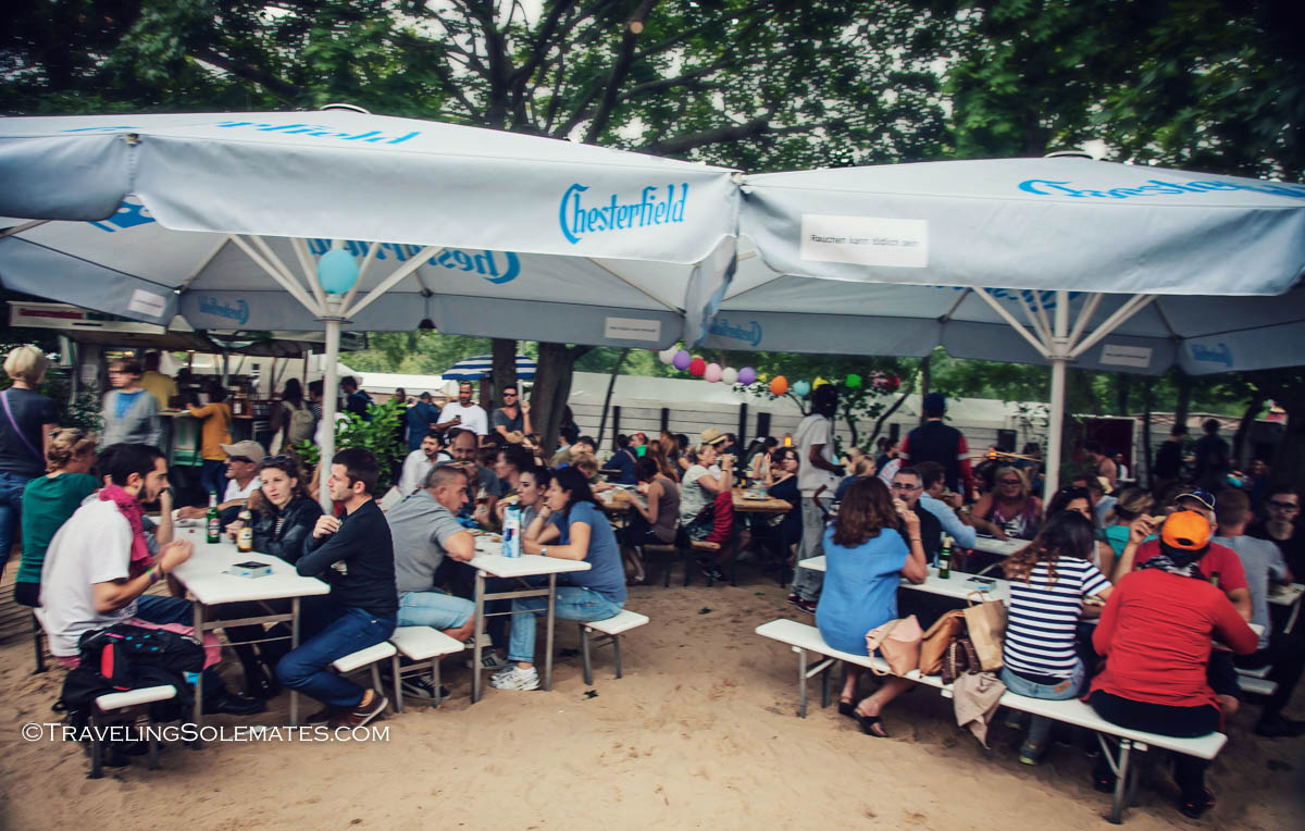 Beer Hall in Mauerpark, Berlin, Germnany