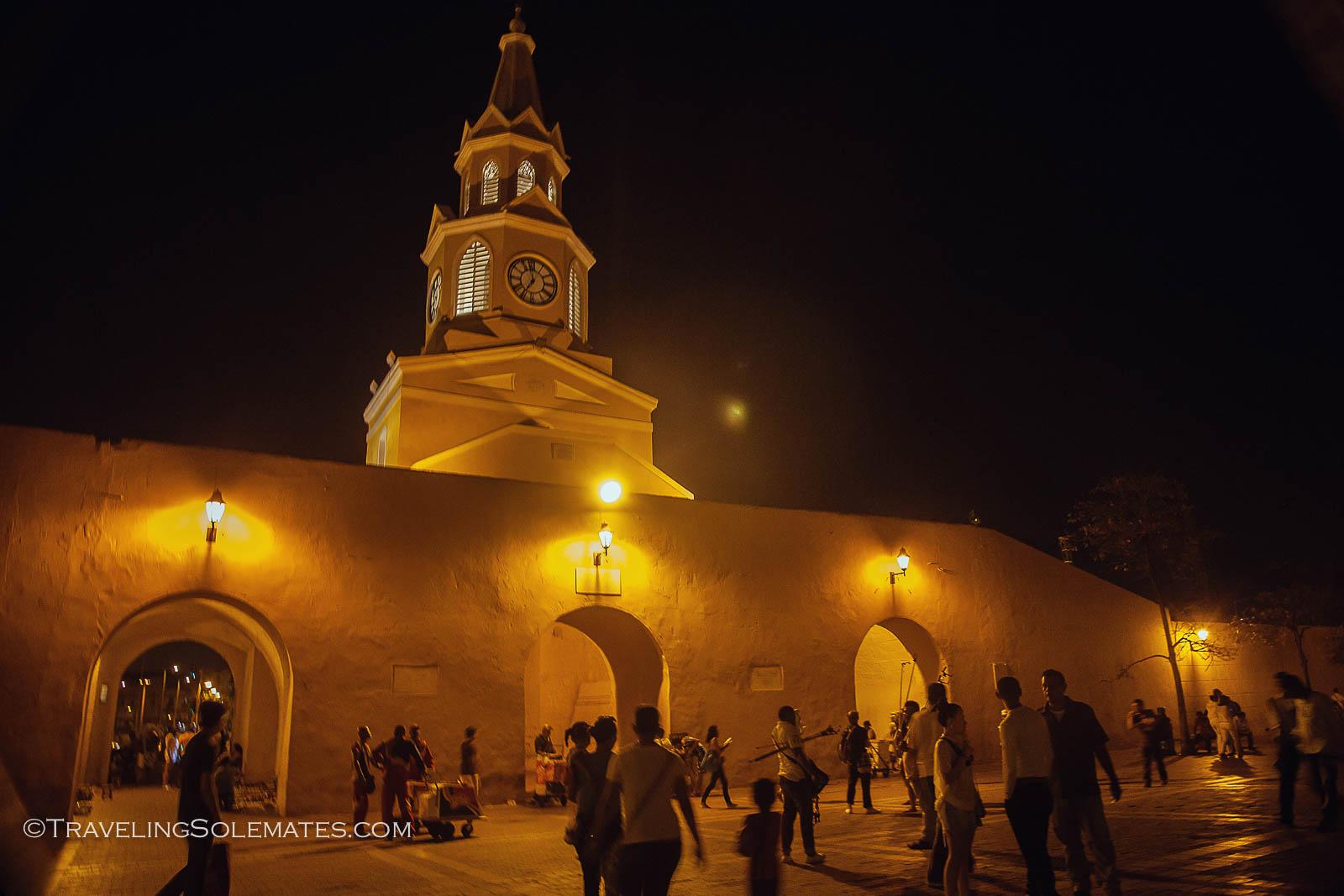 La Torre de Reloj, Old Cartagena, Colombia