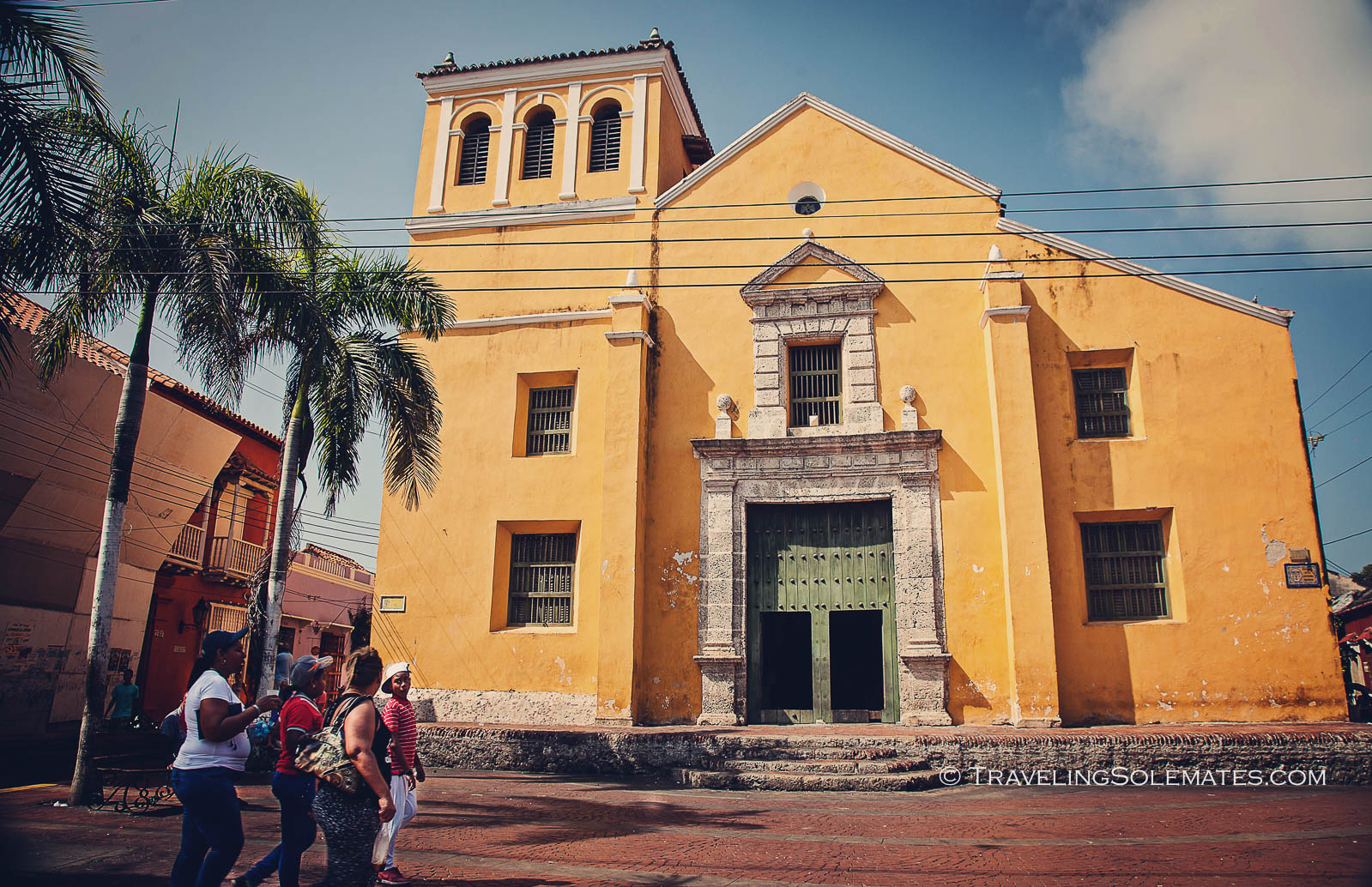 A Church in Getsemani, Cartagena, Colombia