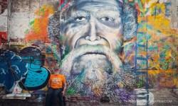 Street Art in Getsemani, Cartagena, Colombia
