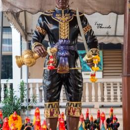 Wat Indharavihan, Bankgok, Thailand, Standing Buddha, Luang Pho To