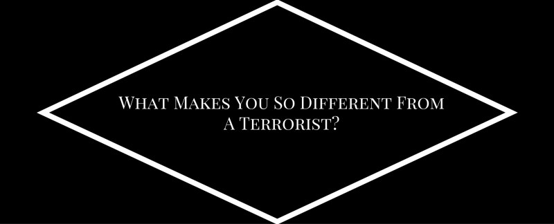 What Makes You So Different From A Terrorist B
