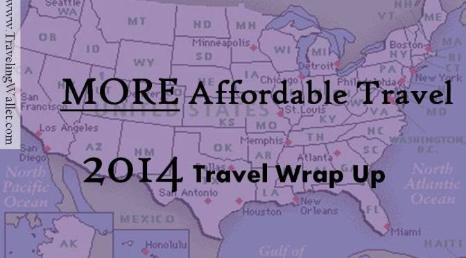2014 travel wrap up