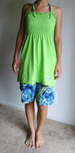 Mr. Roamer likes this dress... It turned out to be the perfect beach attire