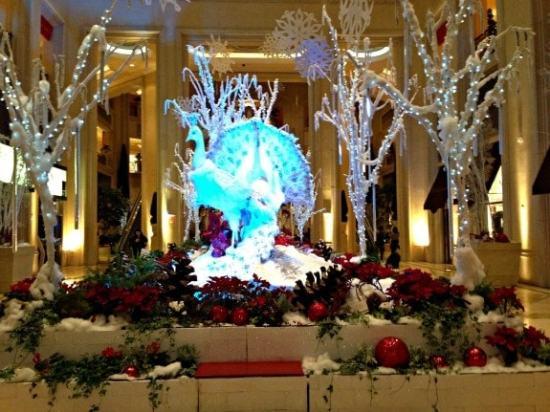 Christmas Display at Venetian, Las Vegas