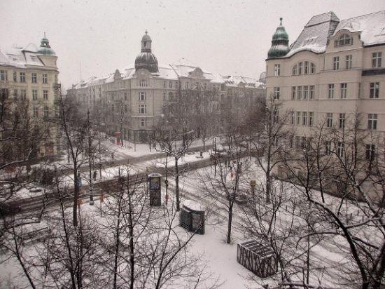 A dusting of snow in Berlin