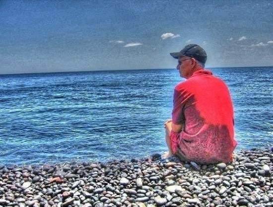 Looking at the Ionian Sea